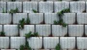 Mur de soutènement décoratif jardinière - Dimensions (en mm) : 500 x 300