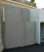 Mur de soutènement pour déchetterie en L ou en T - Hauteur de 2 à 2.75 mètres