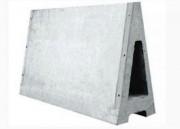 Mur en béton alfabloc - Épaisseur : 0.60 - 0.76 - 1.22 m