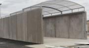 Mur en béton préfabriqué - En béton préfabriqué