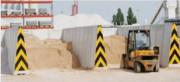 Mur mobile en béton - Cases à agrégats, Station de compostage, Centres de tri, Stockage de céréales, ...