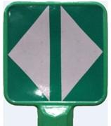 Musoir souple auto relevable - M-road, balise de divergent