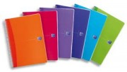 My Color Cahier reliure intégrale A4 100pages 5x5 –Couvertures polypro assorties - oxford