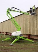Nacelle à chenilles élévatrice - Hauteur de travail 14,7 m - Allonge 7,55 m -  Charge utile de 225 kg