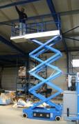 Nacelle à ciseaux électrique - Capacité de charge : 450 kg
