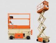 Nacelle à ciseaux électriques - Hauteur de travail : 4,55 ou 5.2 m