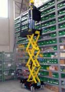 Nacelle à ciseaux élévatrice électrique - Micro-nacelle élévatrice électrique