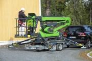 Nacelle araignée stabilisation automatique - Nacelle araignée 13,5 m avec stabilisation automatique