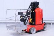Nacelle automotrice occasion à mât 200 kg - Hauteur de levée 7900 mm