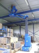 Nacelle avec bras déporté et rotation tourelle - Déport de 3 m - Hauteur de travail : 11.20 m