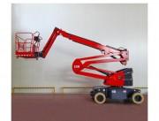 Nacelle bras articulé - Hauteur de travail : 15 m - Charge maximale : 230 Kg