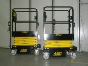Nacelle ciseaux à poussée électrique - Charge utile : 250 Kg (1 Personne)