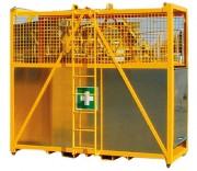Nacelle de secours - Charge maximale : 500 Kg (dont 3 personnes)