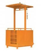 Nacelle de travail double - Capacité charge (Kg) : 660