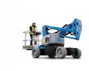 Nacelle élévatrice à bras articulé - Compacte, électrique et bi-énergie ou diesel
