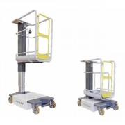 Nacelle élévatrice à mât vertical - Hauteur : 3,5 m - Mât télescopique - Usage interne/externe