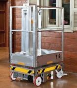 Nacelle élévatrice manuelle 200 Kg - Capacité : 200 kg - Hauteur de travail : 5m