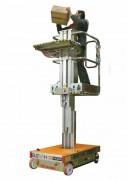 Nacelle élévatrice picking manuelle - Capacité : 200kg/plateau électrique100kg