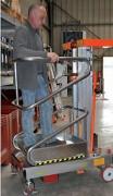 Nacelle manuelle élévatrice - Capacité : de 200 kg