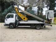 Nacelle sur camion 18 m monté sur châssis