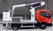 Nacelle sur camion hauteur de travail 11 mètres - Hauteur de travail 11 m - Rotation 360 °