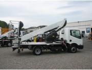 Nacelle sur camion oil - Hauteur de travail : 20 m - Charge maximale : 200 Kg
