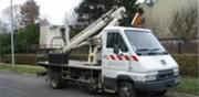 Nacelle sur porteurs poids lourds Hauteur de travail 16 mètres