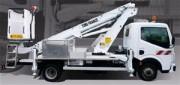 Nacelle sur véhicule 3T5 (VL) Hauteur 16.50m