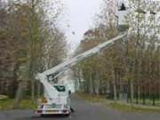 Nacelle sur véhicule 3T5 (VL) hauteur 19 à 21m - Hauteur de travail 19 - 21m