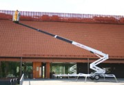 Nacelle tractable charge - Hauteur de travail max : 26m