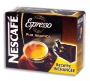 NESTLE Boîte de 25 sachets café instantané Espresso de 1,8g 105400 - Europa