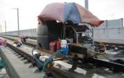Nettoyage d'entrerail train laminoire à rail Taiwan - Transport et trafic