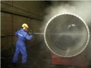 Nettoyage d'installations rouleau égoutteur - Industrie
