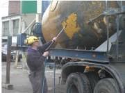Nettoyage de machines de chantier - Machine et pièce