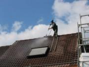 Nettoyage de toitures - Buse rotative - nettoyage haute pression tuiles en béton