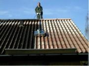 Nettoyage de toitures Toits en fibrociment - Bâtiment et rénovation