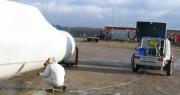 Nettoyage des installations d'énergie éolienne - Industrie