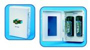 Nettoyage oculaire instant - Dimensions : H. 390 - I. 270 - P. 130 mm. Poids : 2,535 kg.