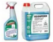 Nettoyant écolabel pour surfaces et vitres - Bidon de 5 litres   -  Spray de 750 ml