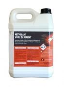 Nettoyant voile de ciment - Consommation : 1 litre pour 6 à 10 m²