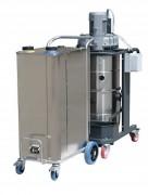 Nettoyeur à vapeur et eau 10 bars - Triphasé - 5 puissances de chaudière : 10,8KW / 14,4KW / 21,6 / 28,8 et 36KW.