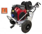 Nettoyeur haute pression à démarreur électrique - Débit (L/min) : 22