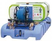 Nettoyeur haute pression autonome eau froide sur batteries - Pression réglable : de 20 à 150 bars