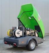 Nettoyeur haute pression autonome sur mesure - À eau chaude -  Pression : de 200 à 500 bars
