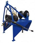 Nettoyeur haute pression avec prise de force - Débit (L/h) : 1260 - 1800