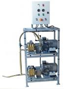 Nettoyeur haute pression double pompe - Débit (L/min) : 2 x 30