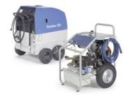 Nettoyeur haute pression eau chaude autonome