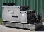 Nettoyeur haute-pression eau chaude monophasé - Eau chaude 150 bars 540 litres/heure
