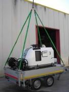 Nettoyeur haute pression eau chaude professionnel - Pression : de 200 à 500 bars