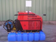 Nettoyeur haute pression eau chaude semi professionnel - Pression (bars) : 200 - Débit : 15 litres minutes